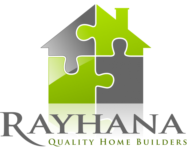 Rayhana Quality Home Builders Logo.