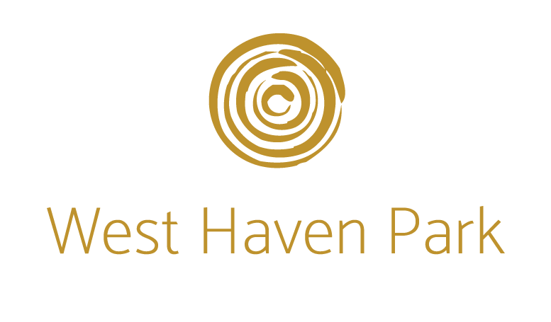 West Haven Park logo in yellow.